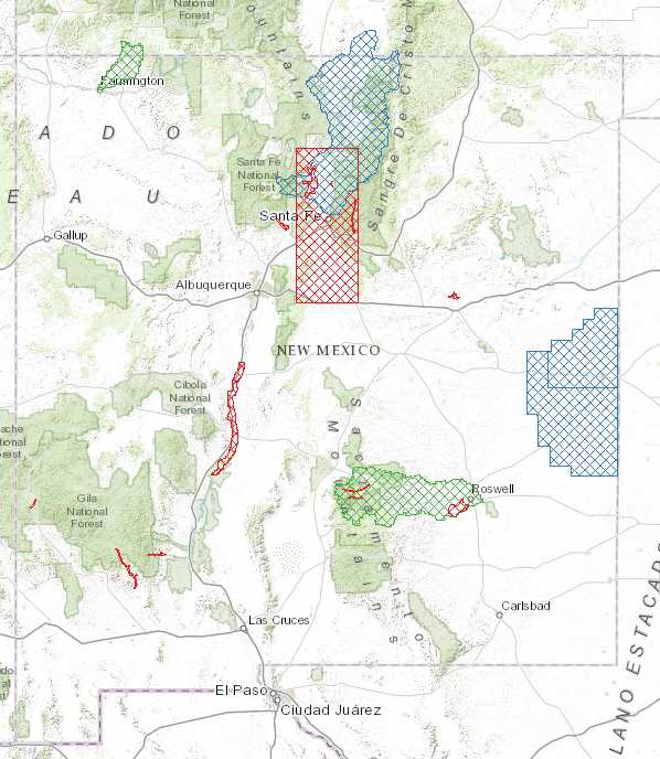 Elevation NM RGIS - New mexico elevation map